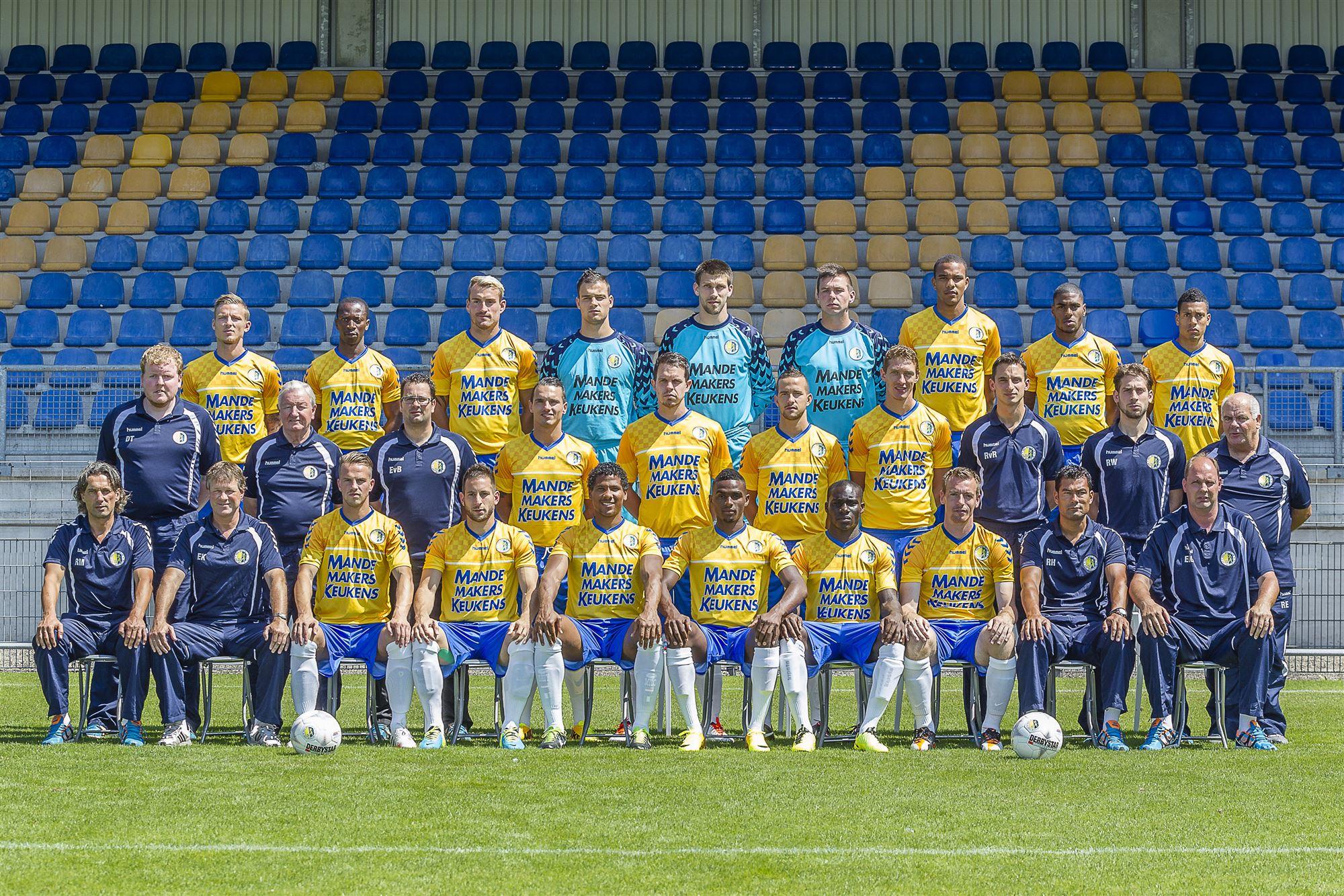 voetballers uit gouda