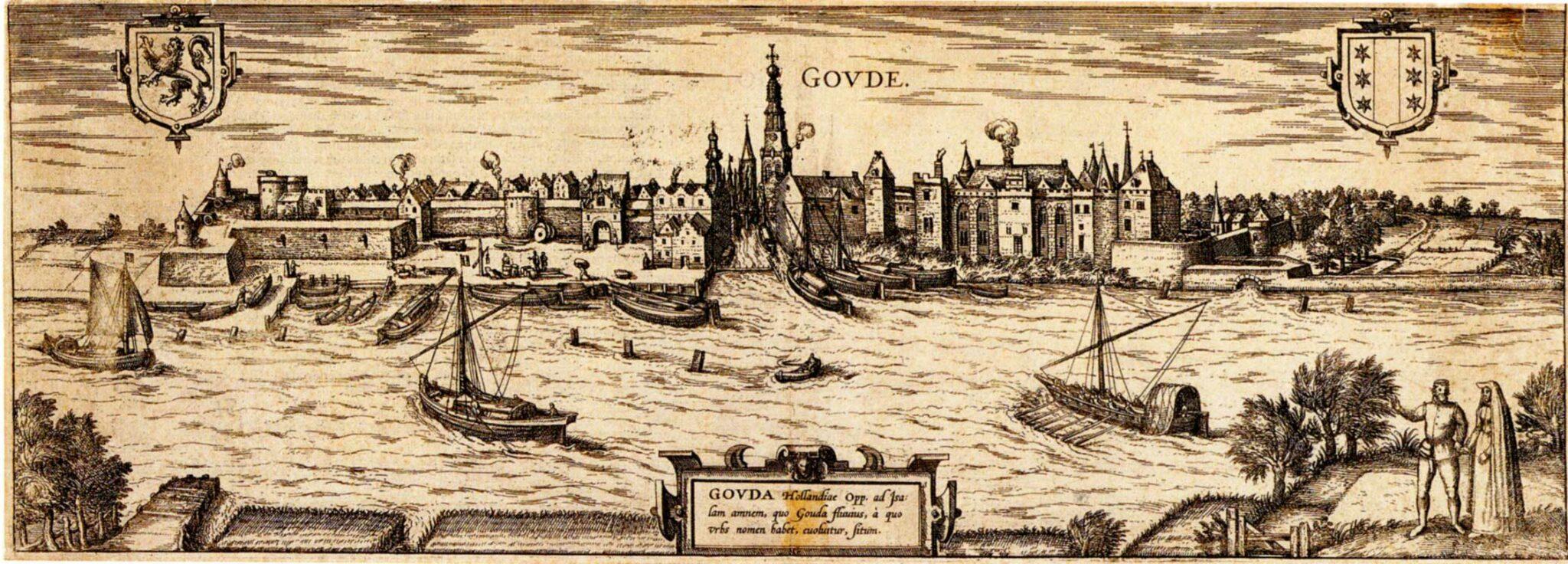 stadsmuren Gouda