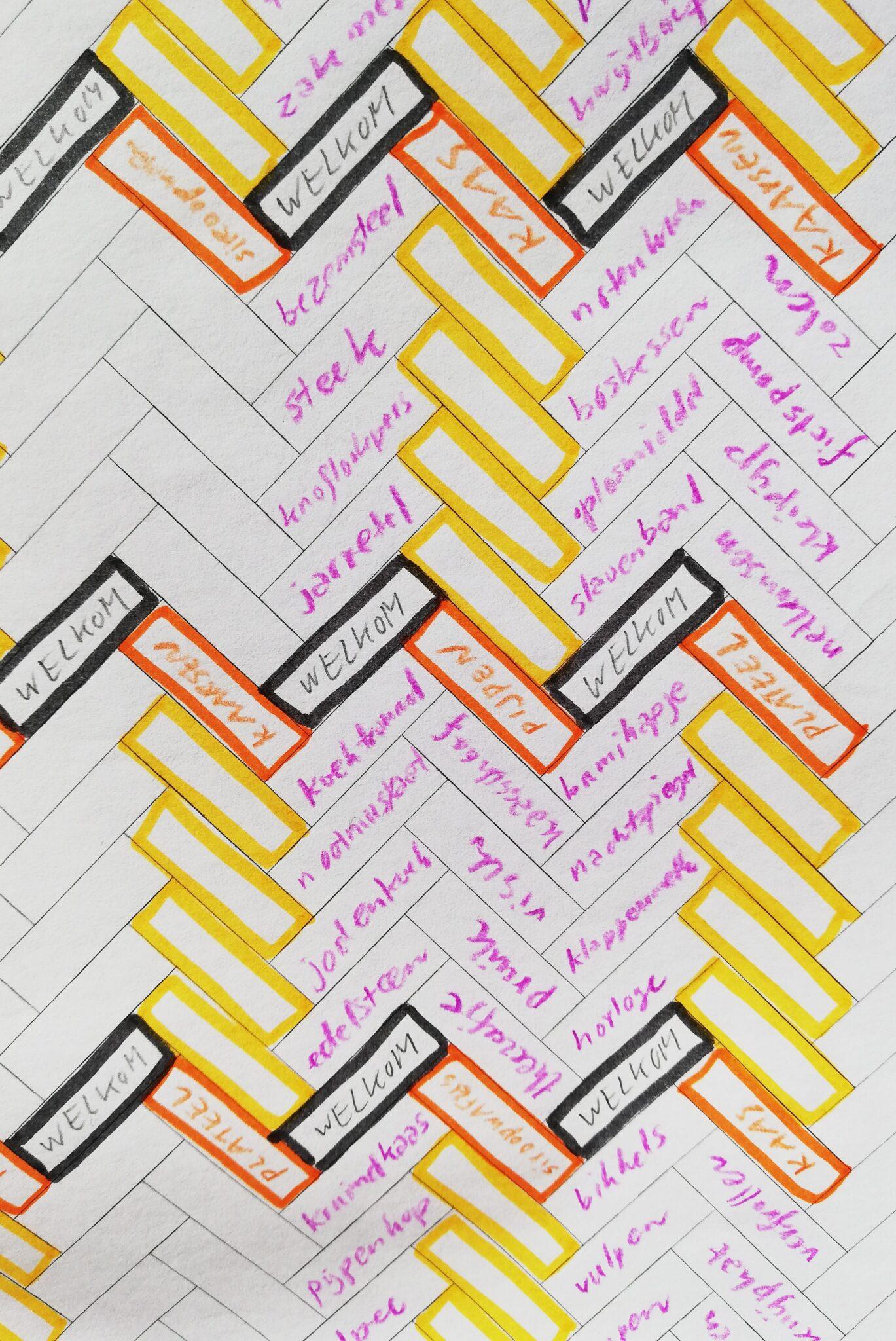 Schets eerste ontwerp | © Korrie Besems