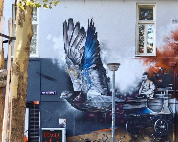 Groningse graffitikunstenaars