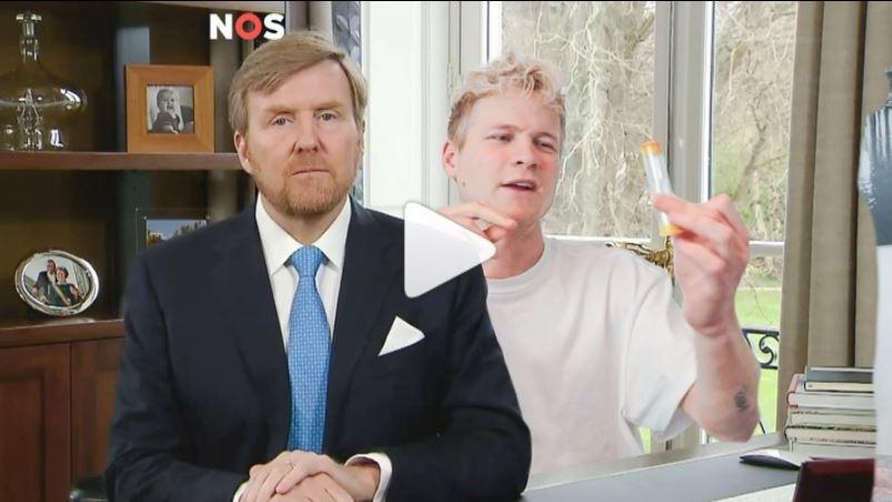 30 seconds met koning Willem-Alexander