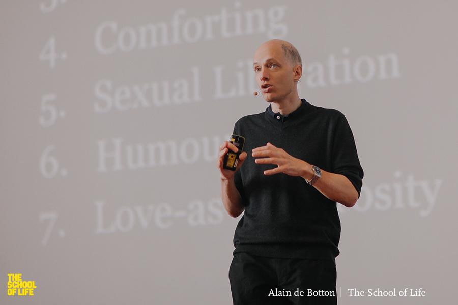 Alain de Botton School of life