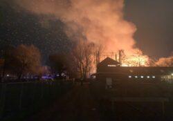 boerderij brand Groningen
