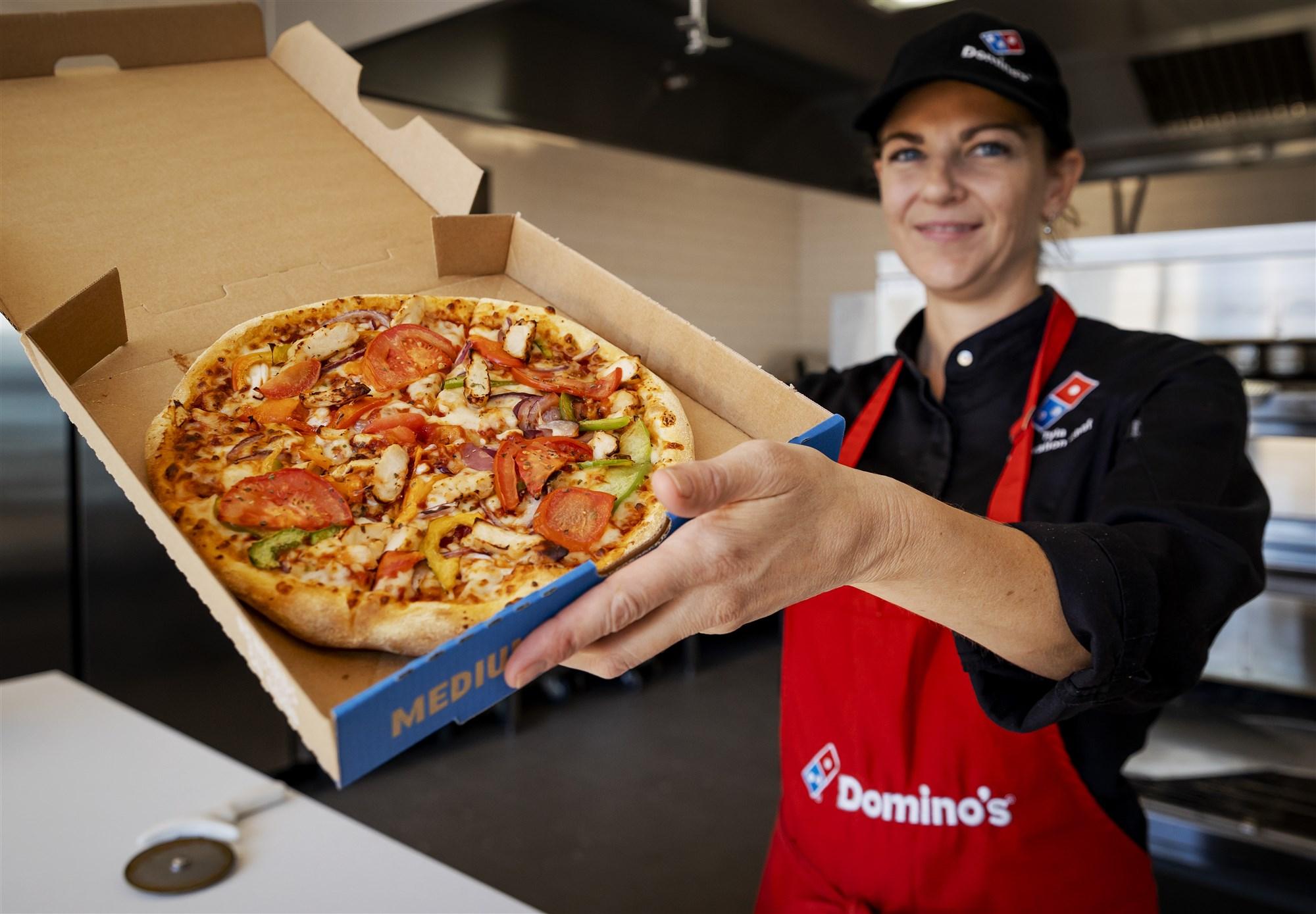 vierkant pizzadoos