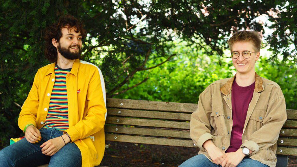 Gilles en Chris Ganymedes pride week