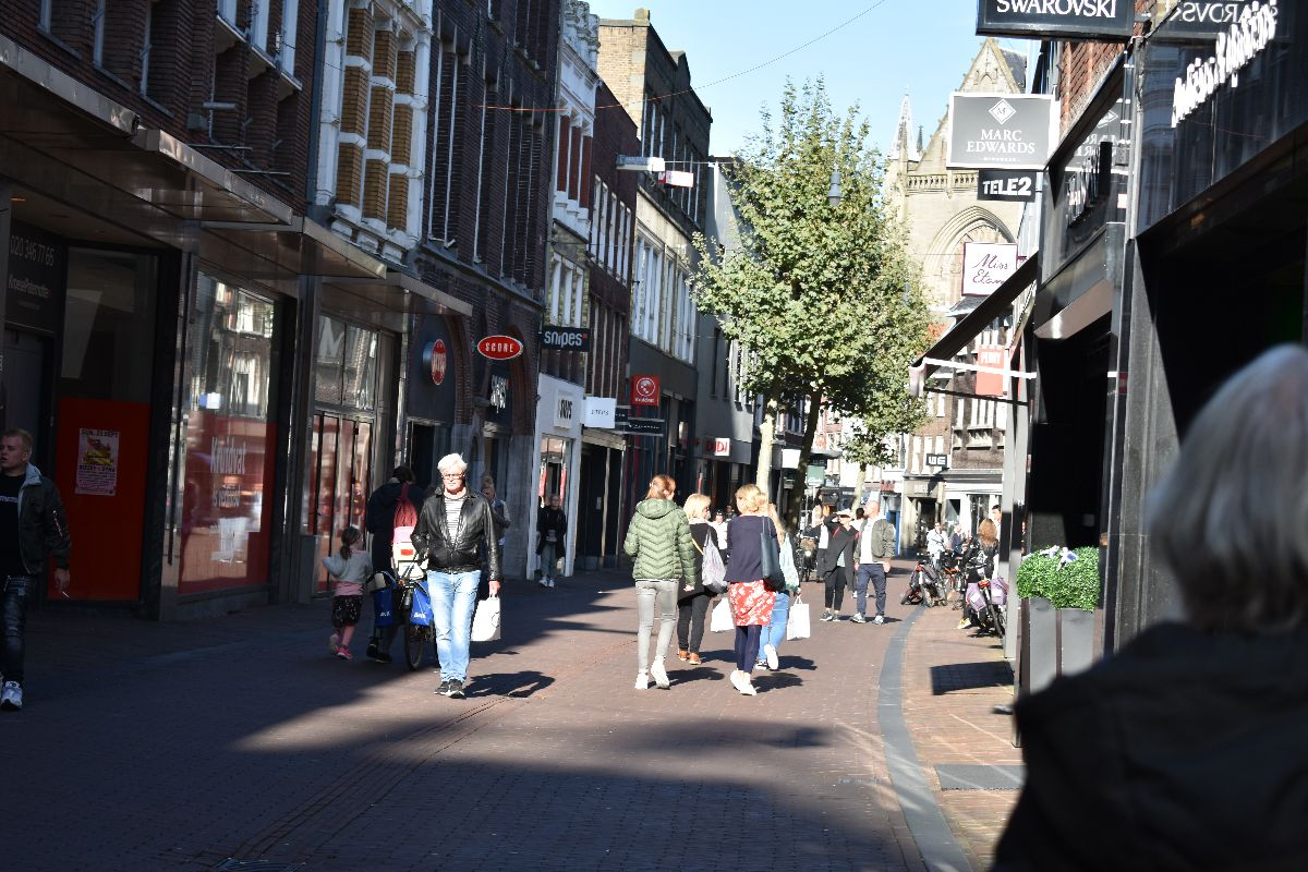 Shoppen in Haarlem
