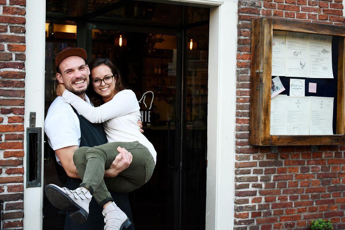 Lisa En Tim Van Restaurant Frenchie We Zijn Een Soort Woonkamer Van De Buurt Indebuurt Haarlem