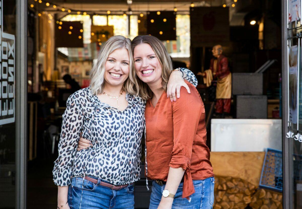Zussen Annika En Pauline Runnen Een Van Nederlands Grootste Foodblogs Vroeger Hadden We Altijd Ruzie Indebuurt Haarlem