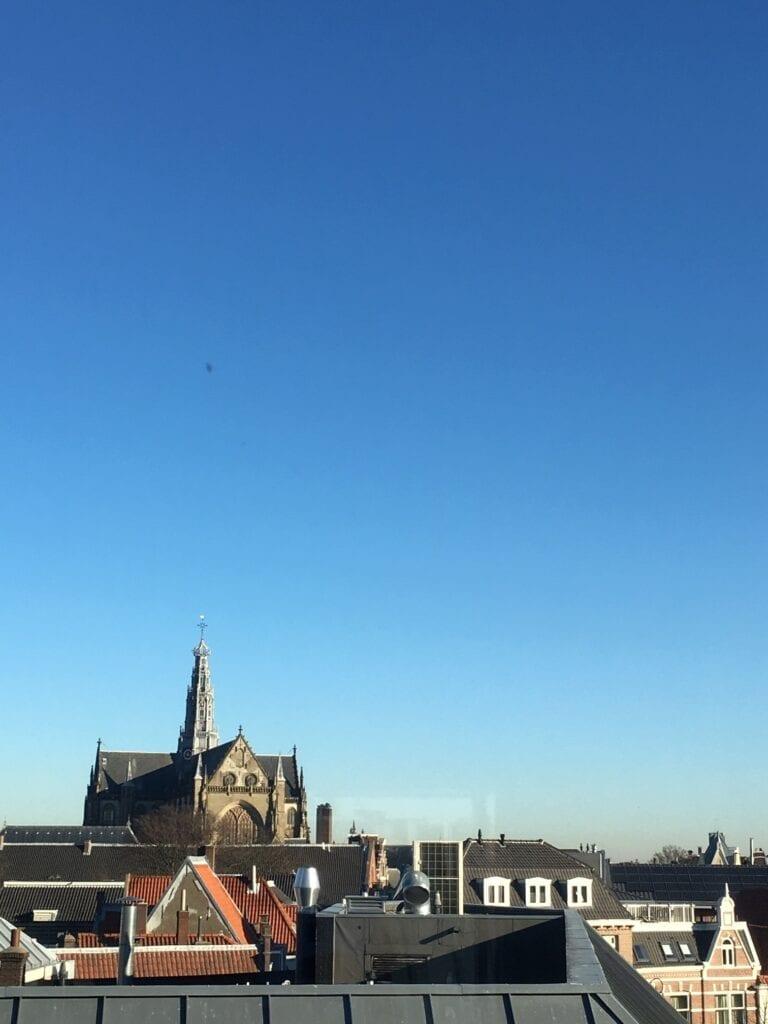 Uitzicht vanuit de Jacobstraat door Mathilde