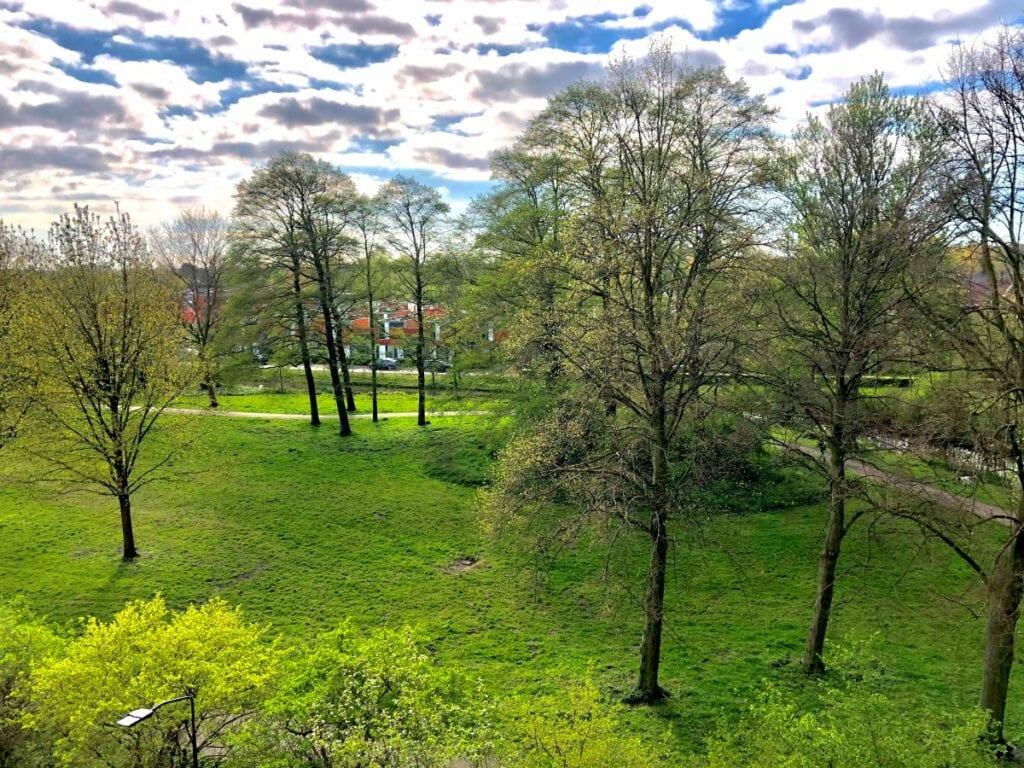 Uitzicht op het Engelenpark door David