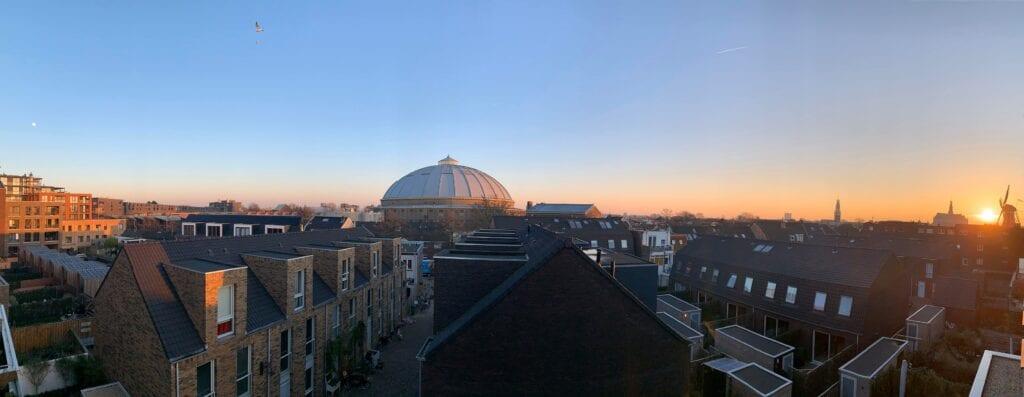 Uitzicht Haarlem Linda