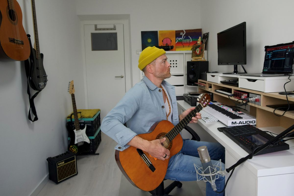 David Michielen voor Maand van de Amateurkunst