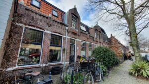 schattig huizen huisjes straatbeeld wonen Haarlem Indische buurt