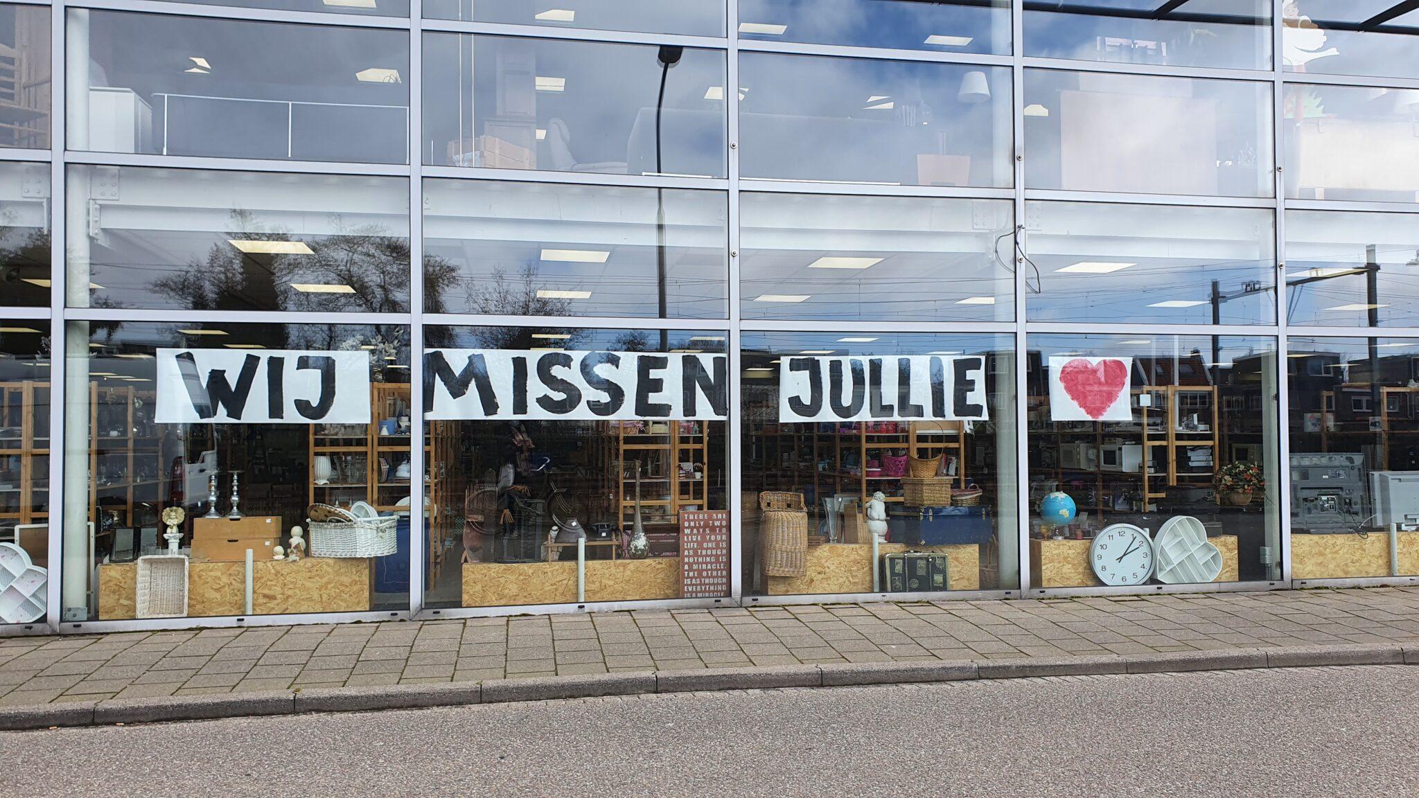 Kringloop Zolder023 wij missen jullie corona winkelen
