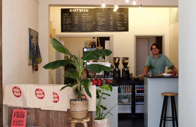 kaffveen koffie koffiezaak koffietent haarlem