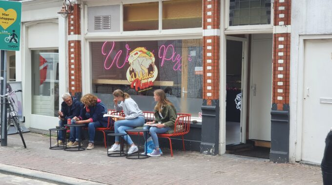 Wallet Pizza | foto: indebuurt Haarlem