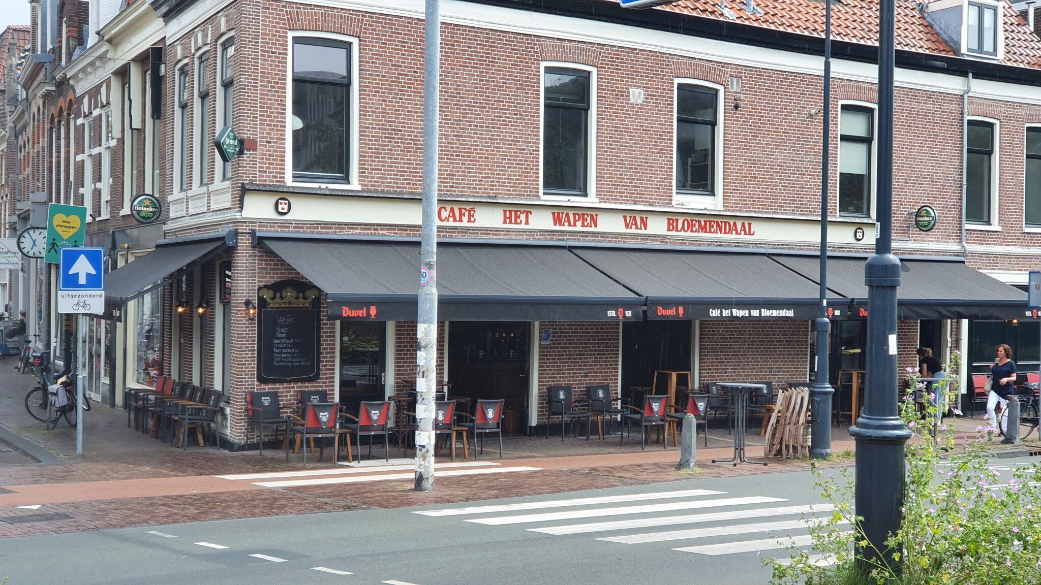 Overdekt terras overdekte terrassen Haarlem Café Het Wapen Van Bloemendaal