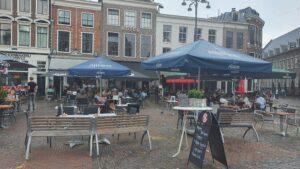 Overdekt terras overdekte terrassen Haarlem Bambu, The Square en XO
