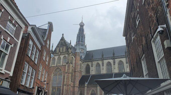 Grote kerk Grote markt haarlem centrum stad