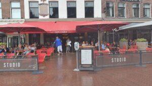 Overdekt terras overdekte terrassen Haarlem Café Studio