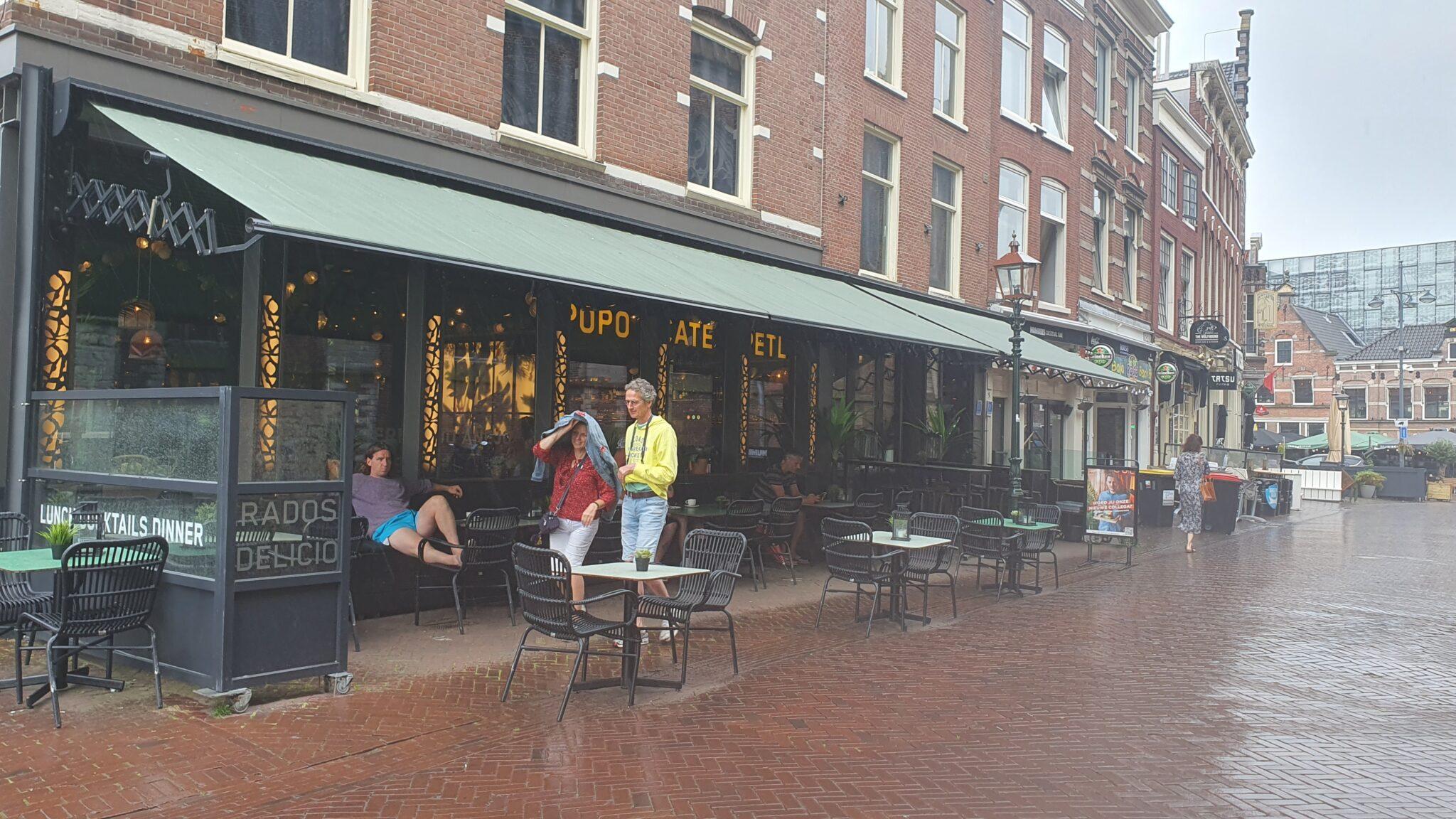 Overdekt terras overdekte terrassen Haarlem Popocatepetl