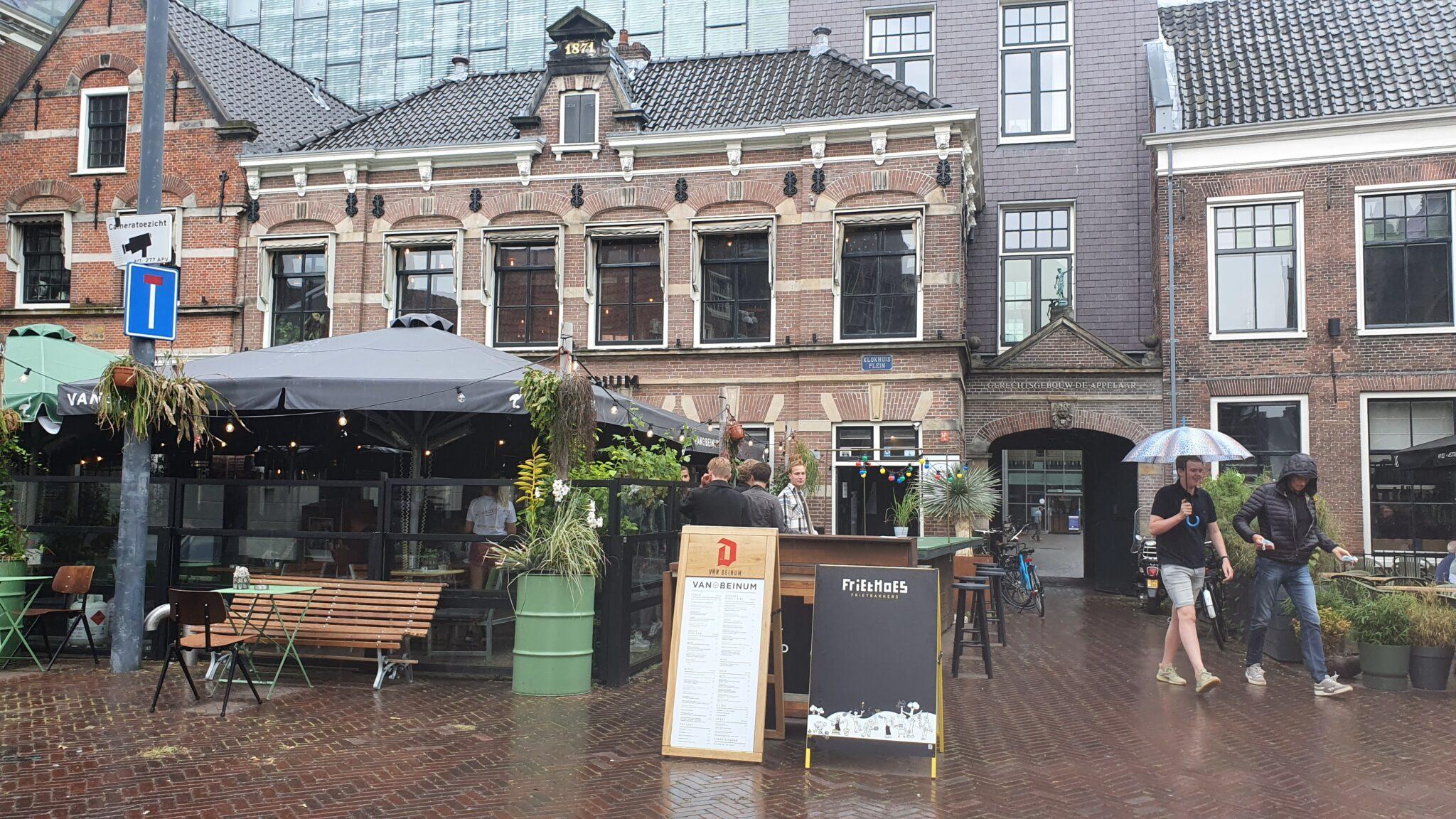 Overdekt terras overdekte terrassen Haarlem Van Beinum