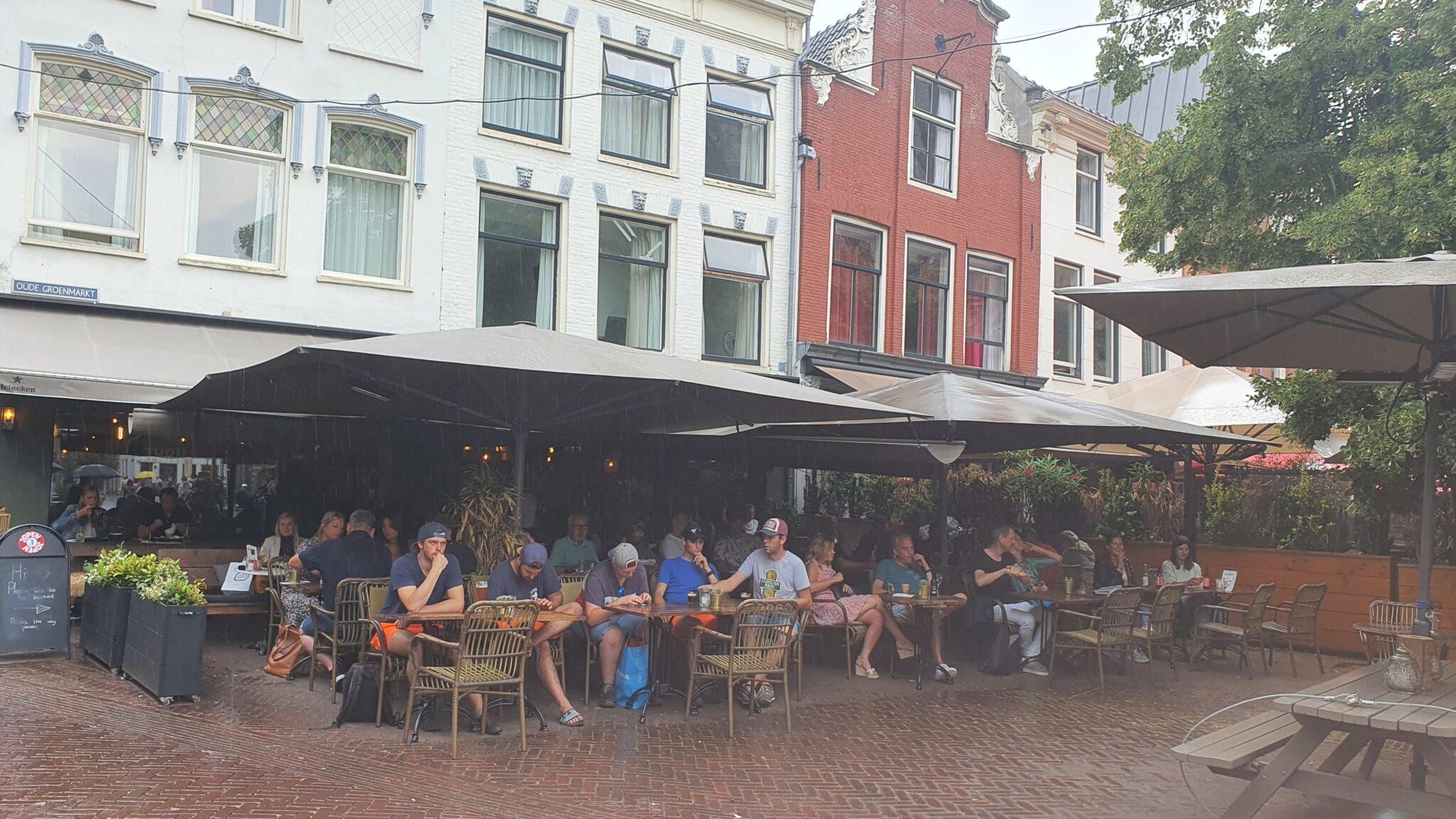 Overdekt terras overdekte terrassen Haarlem Thrill Grill