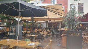 Overdekt terras overdekte terrassen Haarlem Table 24