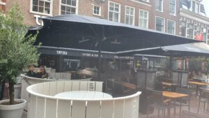 Overdekt terras overdekte terrassen Haarlem Tatsu