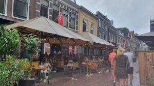 Overdekt terras overdekte terrassen Haarlem Toujours