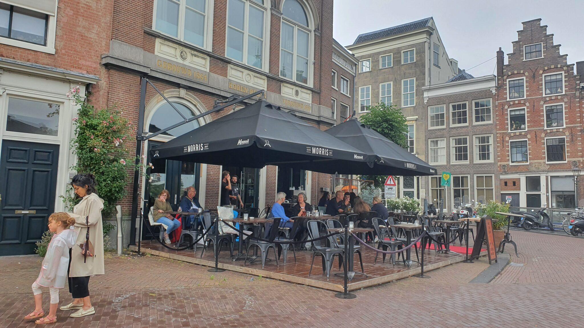 Overdekt terras overdekte terrassen Haarlem Morris