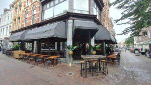 Overdekt terras overdekte terrassen Haarlem Café Samabe