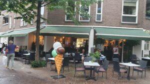 Overdekt terras overdekte terrassen Haarlem The Coffee Bakery