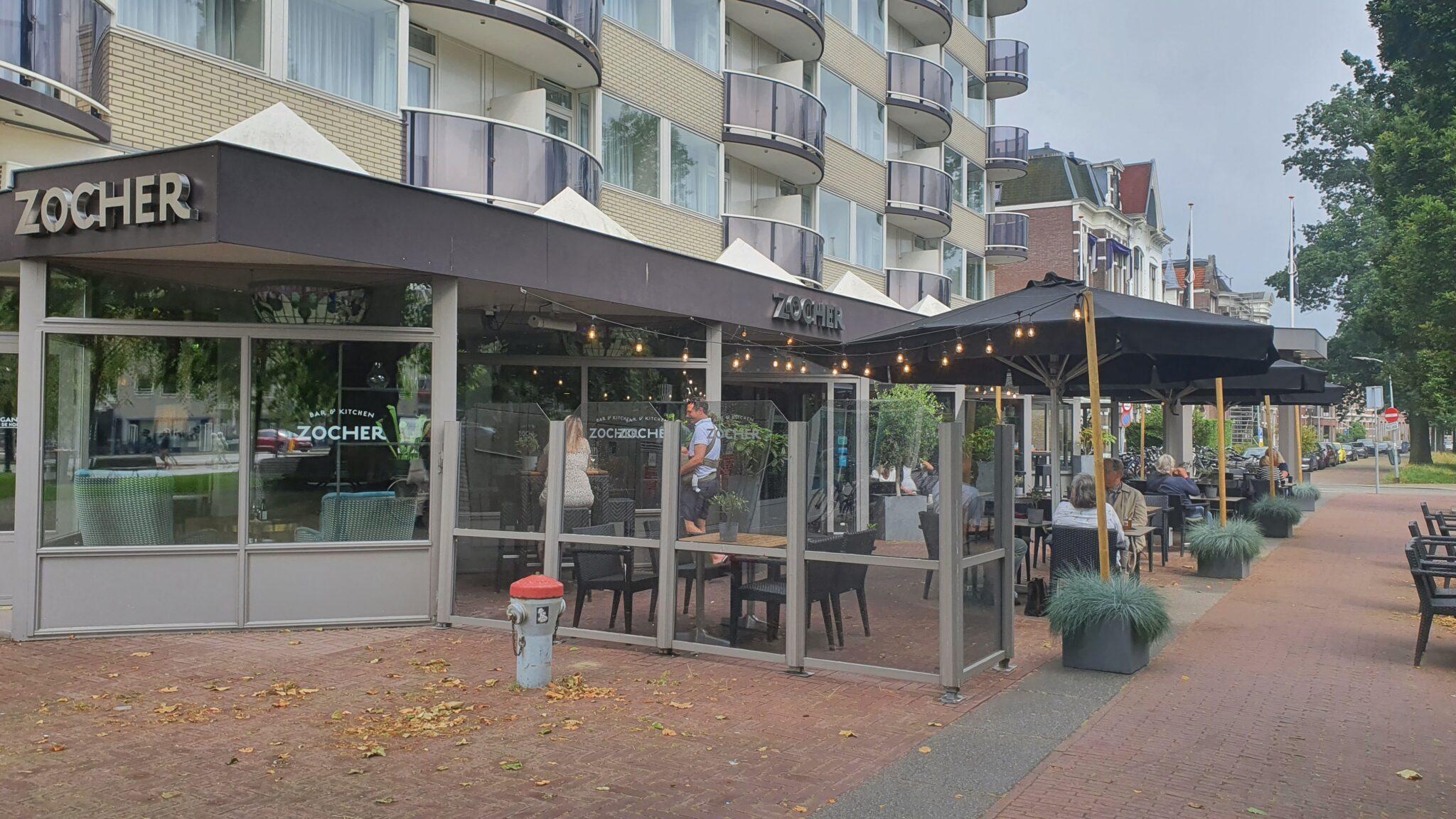 Overdekt terras overdekte terrassen Haarlem Zocher