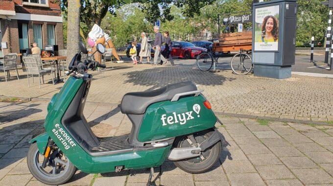 Deelscooters Haarlem