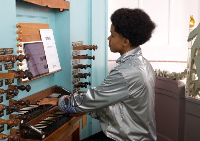 orgel organist rik st bavo st bavokerk