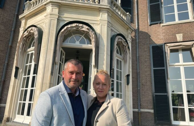Karen en Benoit | foto: Châteauform Landhuis Mariënheuvel