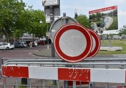 Wegen afgesloten dicht Helmond