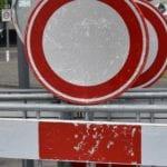 wegen-afgesloten