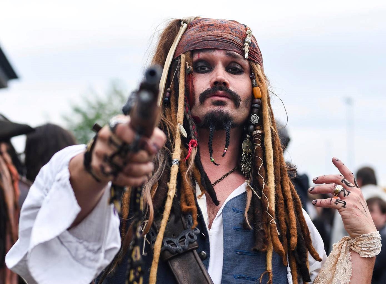 Peter van Hoof als Jack Sparrow 001