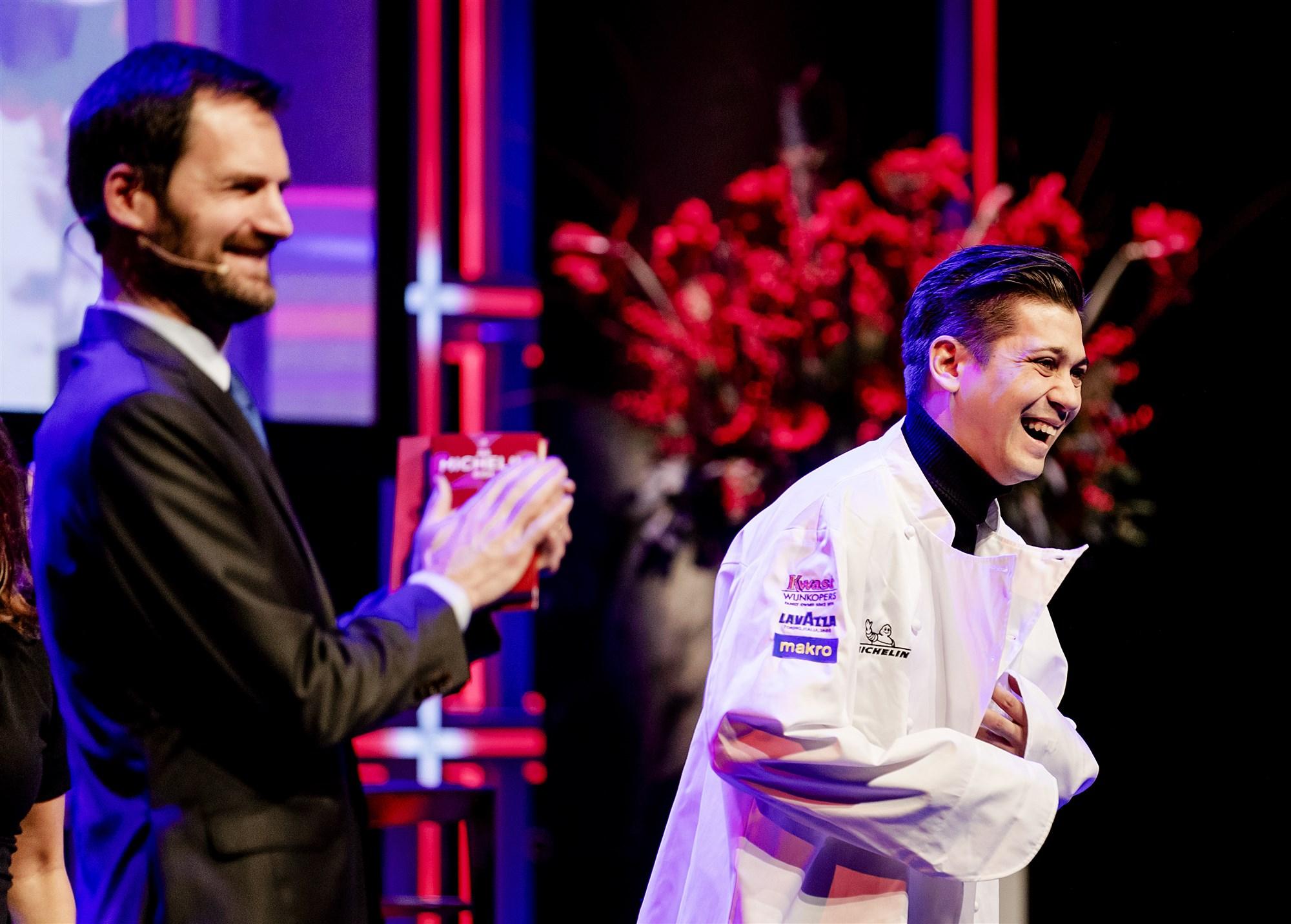 Jermain de Rozario uitreiking Michelinster