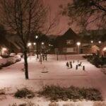 Sneeuw Helmond foto's