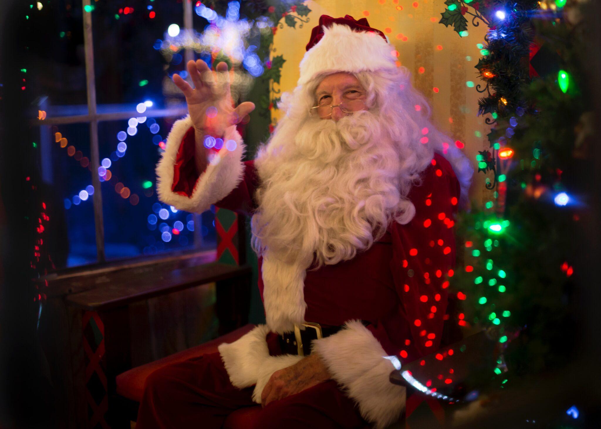 Kerstmis kerstman kerst kerstmarkt