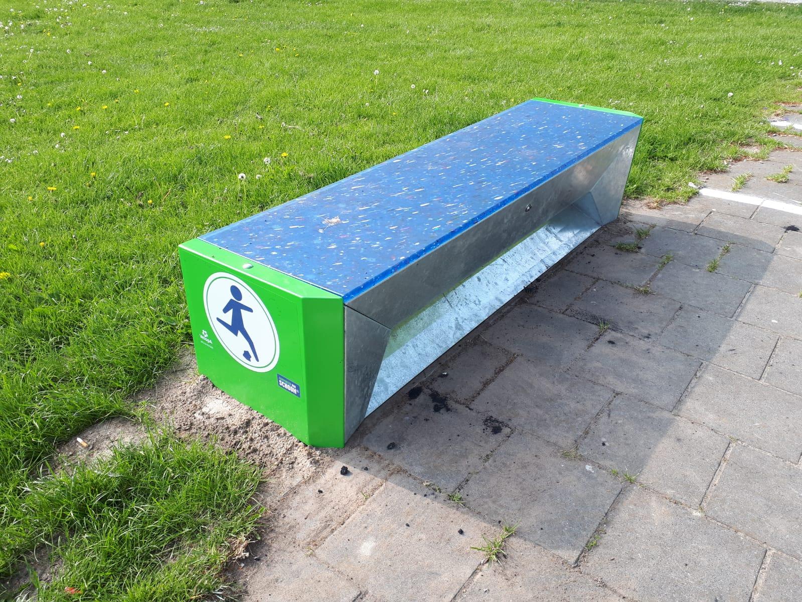Hat-trick afvalbank Helmond