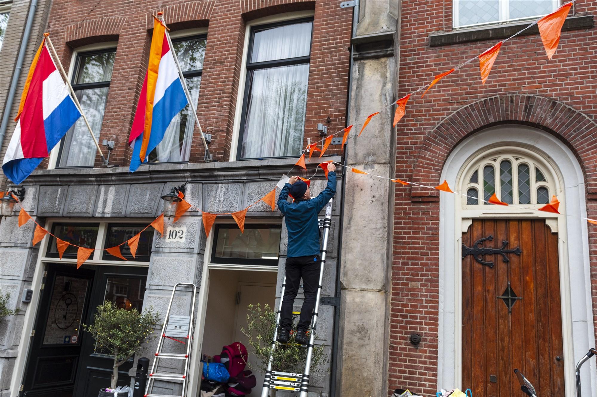 Vlag uithangen Koningsdag