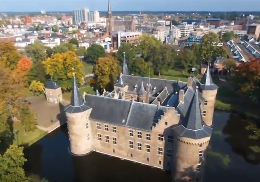 Drone kasteel Helmond