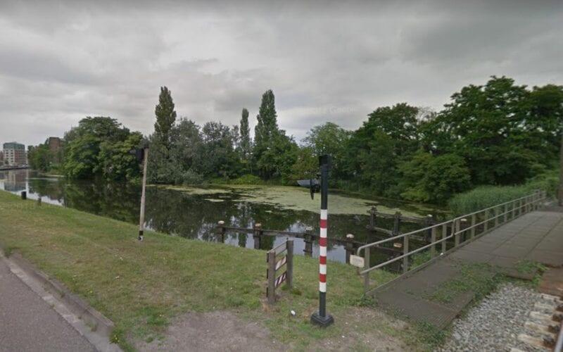 Fietsbrug Helmond locatie