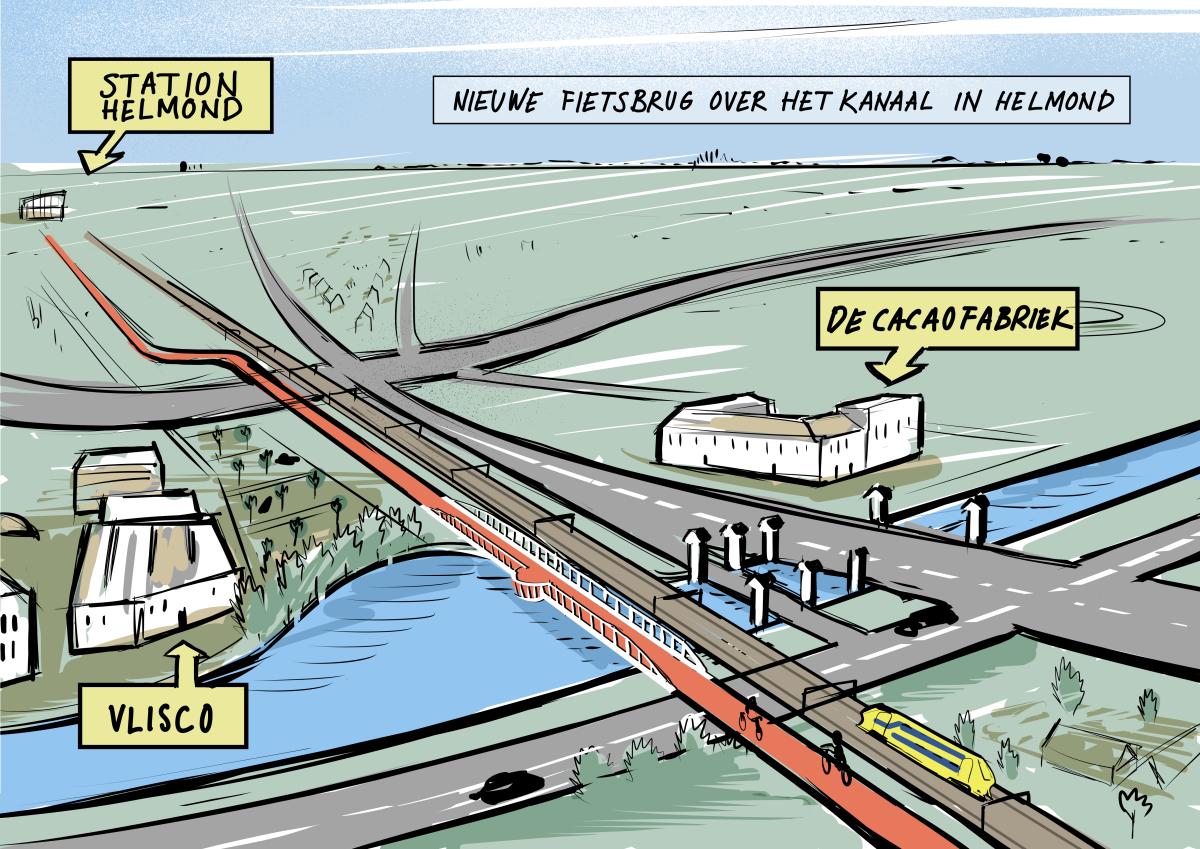 Fietsbrug Helmond