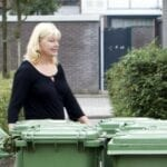 Groene GFT-container afval ANP