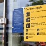 Coronamaatregelen station Helmond 017